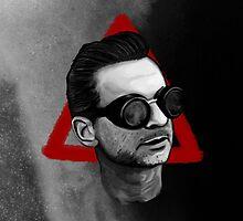 Depeche Mode : Goggles Dave Gahan & 2013's Delta  by Luc Lambert