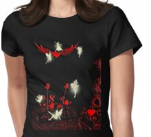 Fairys of Love and Joy Womens Fitted T-Shirt