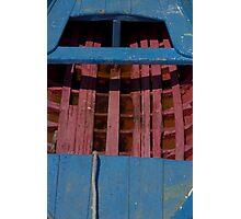 Bright dinghy Photographic Print