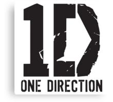 One Direction - 1D Logo Canvas Print