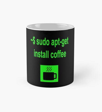 Linux sudo apt-get install coffee Mug