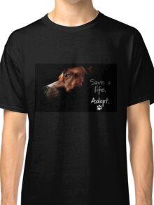 Tchoko says Please Adopt! Classic T-Shirt