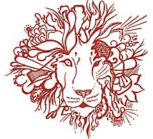 Lion_aroon Photographic Print