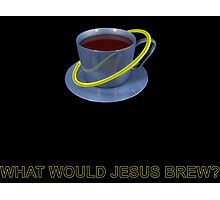Jesus Brew Photographic Print