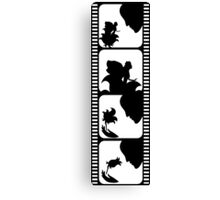 Film stripe with fairy tale Canvas Print