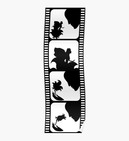 Film stripe with fairy tale Poster