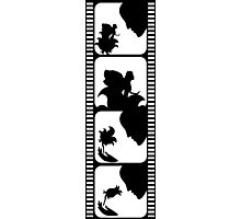 Film stripe with fairy tale Photographic Print
