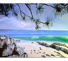Noosa Seaside Photographic Print