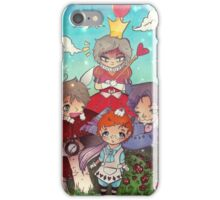 Cabin Pressure In Wonderland iPhone Case/Skin