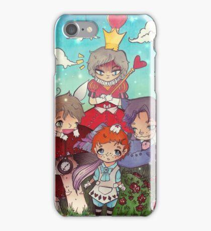Cabin Pressure In Wonderland iPhone Case/Skin