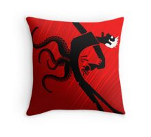 The Back Throw Pillow