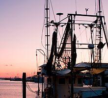 Shrimp Boat Harbor by Jonicool