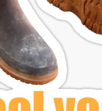 cool your boots Sticker