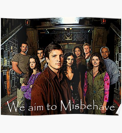 We aim to Misbehave Poster