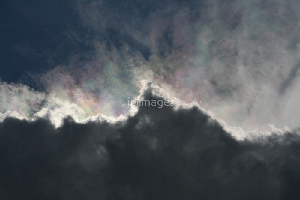 Cloud With A Rainbow Lining  by jcjimages