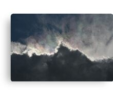 Cloud With A Rainbow Lining  Canvas Print