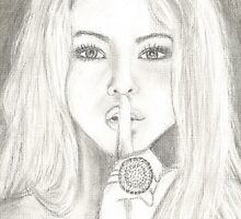 Pretty Little Liars Alison Dilaurentis drawing by shelbmcintyre