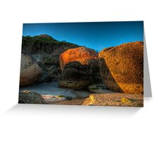 Wilson's Prom, Victoria - Rocks Greeting Card