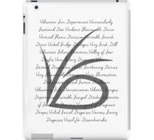 VFD iPad Case/Skin