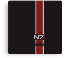 N7 Stripe Canvas Print