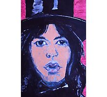Top  hat   jagger Photographic Print
