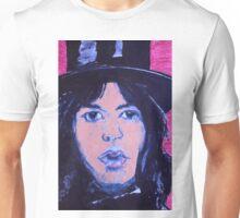 Top  hat   jagger Unisex T-Shirt
