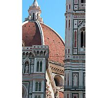 Duomo and Campanile Tower, Florence Photographic Print
