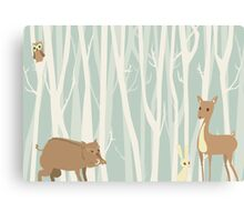 Cute Forest Canvas Print