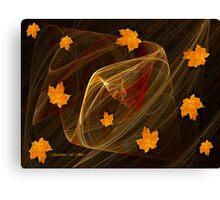 Autumn Twister Canvas Print