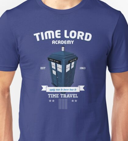 Timelord Academy Unisex T-Shirt