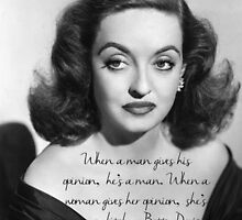 Bette Davis quote by TheIzzySquishy