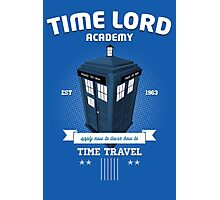 Timelord Academy Photographic Print