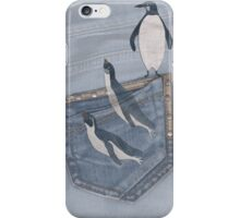penguins winter iPhone Case/Skin
