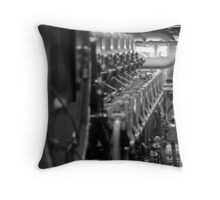 Main Engine 3 Throw Pillow