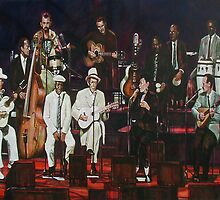 Buena Vista Social Club on stage by Ken Kilpatrick