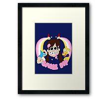 Smile Dip Framed Print