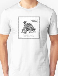 Fancy Gentleman Hermit Crab Unisex T-Shirt