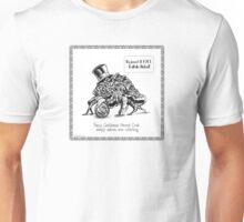 Fancy Gentleman Hermit Crab Unisex T-Shirt