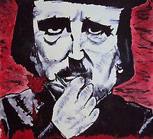 Edgar   Allan  Poe by Dale Tolley