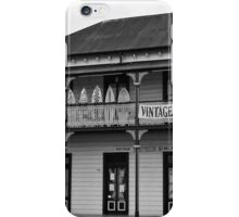 Vintage Store BW iPhone Case/Skin
