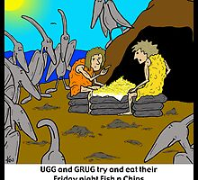 ugg n grugg n those pesky teradactyls by kev howlett
