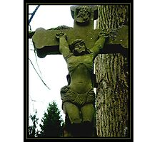 Medieval Cross Photographic Print
