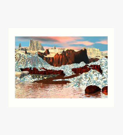 Winter on Copper Mountain Art Print