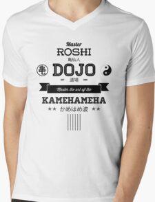 Master Roshi Dojo v2 Mens V-Neck T-Shirt