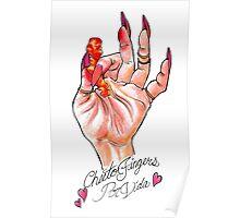 Hot Cheeto Fingers Por Vida  Poster