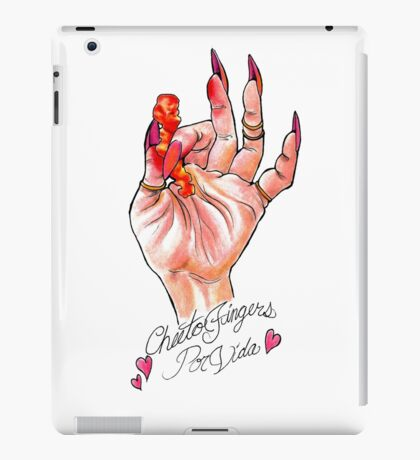 Hot Cheeto Fingers Por Vida  iPad Case/Skin