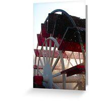 Paddlewheel Greeting Card