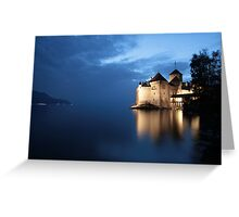 Château de Chillon Greeting Card