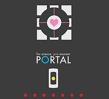 Portal  by GamersTshirts