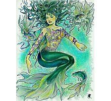 tropical fantasia - dancing mermaid Photographic Print